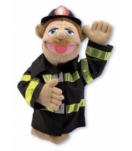 Handpop brandweerman Melissa and Doug