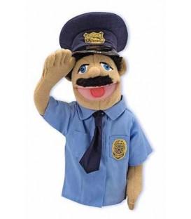 Handpop politieagent Melissa and Doug