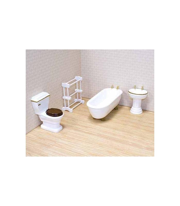 Victoriaans poppenhuis met meubels speciaal4kids for Meubels poppenhuis