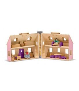 Melissa & Doug draagbaar poppenhuis