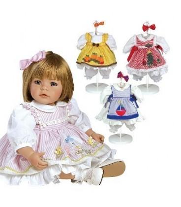 Adora Toddler Time Babies Pin-A-Four Seasons