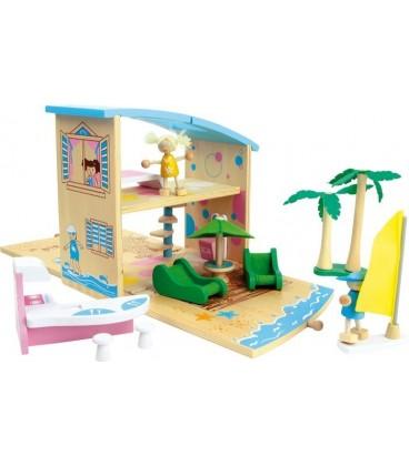 Strandhuis opvouwbaar