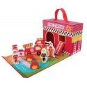 Speelsets in koffer | houten speelgoed